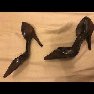 Brown  Ralph Lauren high heels shoes